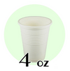04 OZ BIODEGRADABLE DRINKING CUPS, BEIGE - 1,000 / CS - CarryOut Supplies
