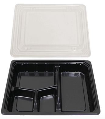 SUSHI BENTO BOXES VS - 28 - 300 PCS/CS - (Item: 65006) - CarryOut Supplies