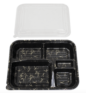 SUSHI BENTO BOXES VS - 32 26.5 (L) X 20.5 (W) X 6 CM (H) - 300 PCS/CS - (Item: 65003) - CarryOut Supplies