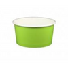 06 OZ. PAPER YOGURT CUPS, SOLID GREEN - 1,000 PCS/CS - (Item: 65826) - CarryOut Supplies