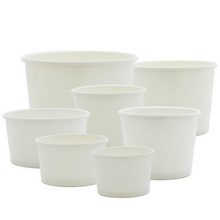 Load image into Gallery viewer, Yogurt/Soup Paper Cup 30OZ (165MM)