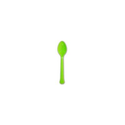 MEDIUM WEIGHT PP DESSERT SPOON ( 2.7 GRAMS ) Kiwi - CarryOut Supplies