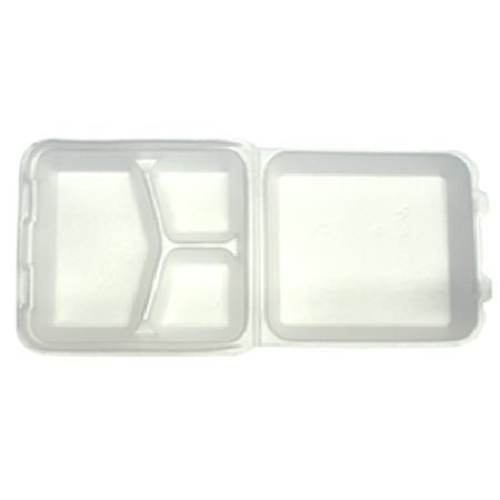 Foam 3-Panel Box | Take Out - Food Containers | Carryoutsupplies.com - CarryOut Supplies