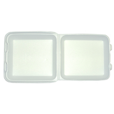 Foam 1-Panel Box | Take Out - Food Containers | Carryoutsupplies.com - CarryOut Supplies
