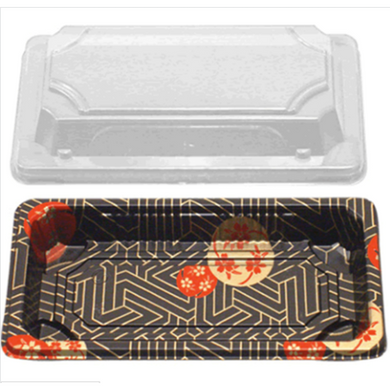 SUSHI CONTAINERS (163 X 88 X 77 MM) - 800 PCS/CS - (Item: YP-0.4) - CarryOut Supplies