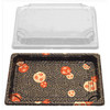 SUSHI CONTAINERS (229 X 155 X 17 MM) - 400 PCS/CS - (Item: YP-2.0) - CarryOut Supplies