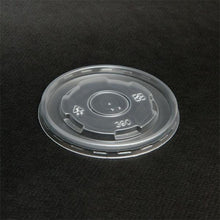 Load image into Gallery viewer, 12oz Vented Flat Lids for 12oz Paper Yogurt Cups - CarryOut Supplies