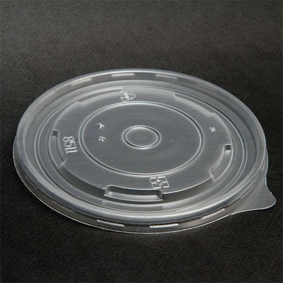 24 oz. and/or 32 oz. Flat Lids for Paper Yogurt Cups | Yogurt Cup Lids | Carryoutsupplies.com(Item: ACYCFL24S) - CarryOut Supplies