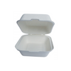 "Eco-Friendly Bagasse 9"" Clamshell - 200 pcs -  (Item: GC-91) - CarryOut Supplies"