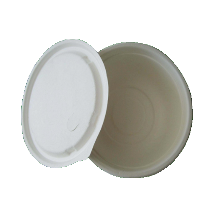 Eco-Friendly Bagasse 500 ml. Bowl - 1000 pcs - (Item: GB-500) - CarryOut Supplies