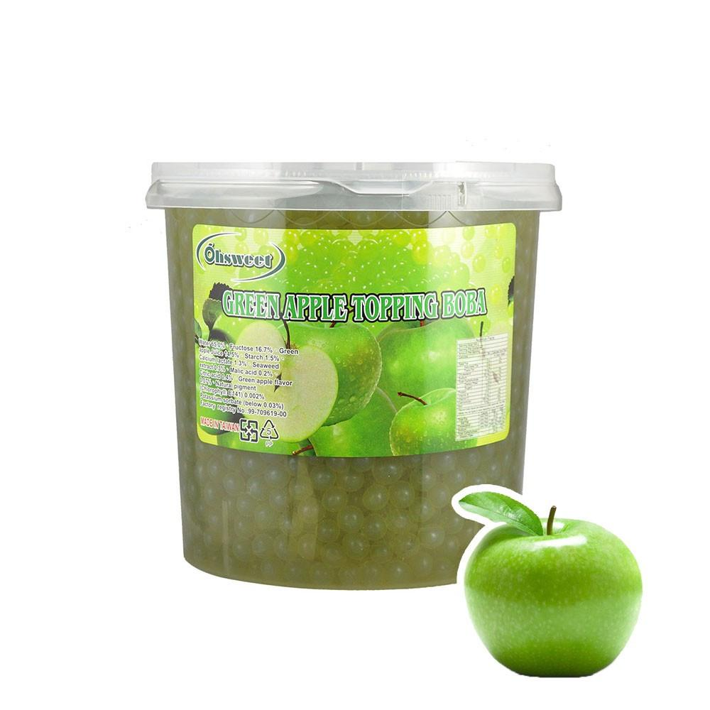 POPPING BOBA - GREEN APPLE - (Item: 6057)    [Call For Details] - CarryOut Supplies