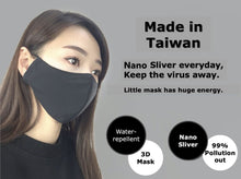 Load image into Gallery viewer, MIT Reusable Nano Silver Face mask (Pack of 2) - CarryOut Supplies