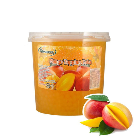 POPPING BOBA - MANGO - (Item: 6052)