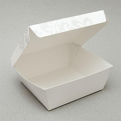 PAPER FOOD BOX (20 OZ.) FLORAL PRINT - CarryOut Supplies