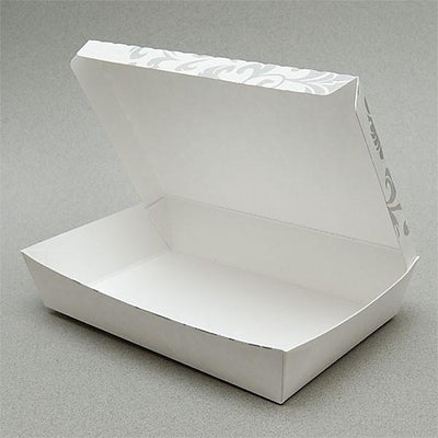 PAPER FOOD BOX (32 OZ.) FLORAL PRINT - CarryOut Supplies