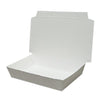 PAPER FOOD BOX (32 OZ.) - Plain White - CarryOut Supplies