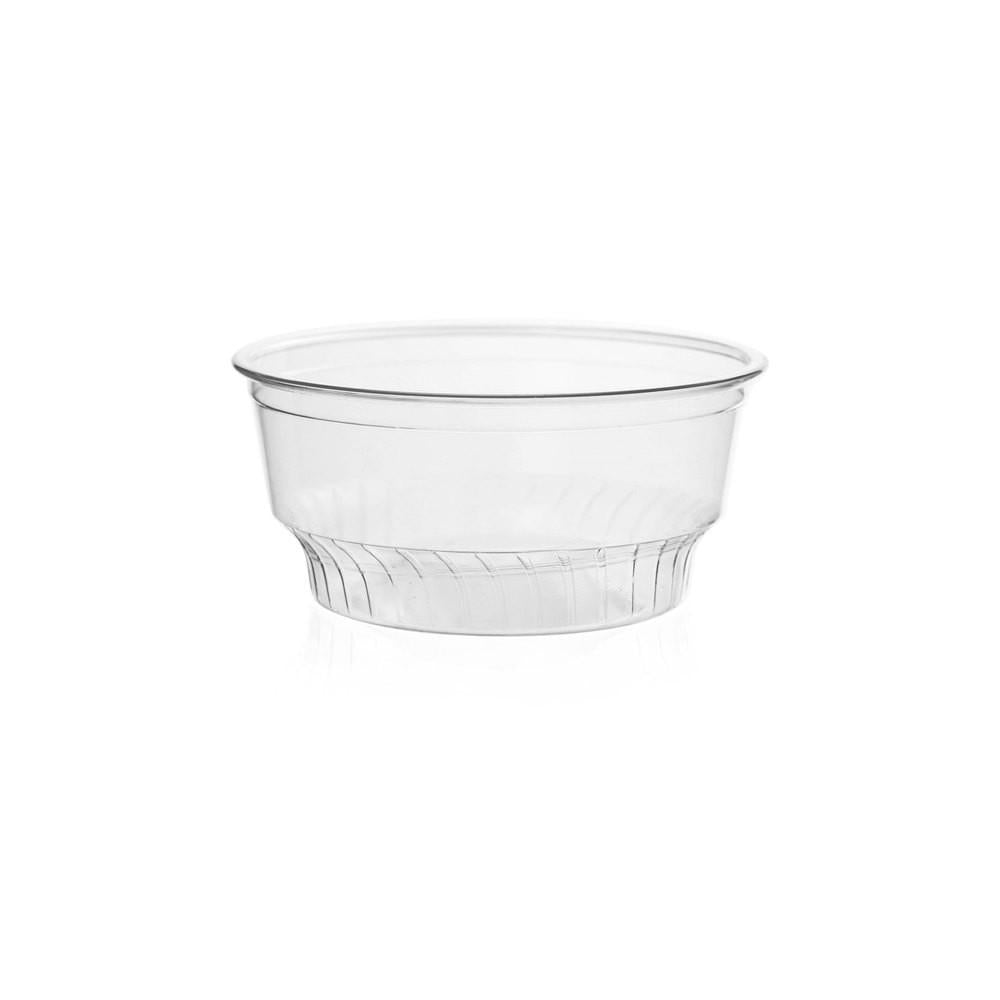 05OZ PET PLASTIC SUNDAE CUP (92MM), CLEAR - 1,000/CS - (item code: CS05-92) - CarryOut Supplies