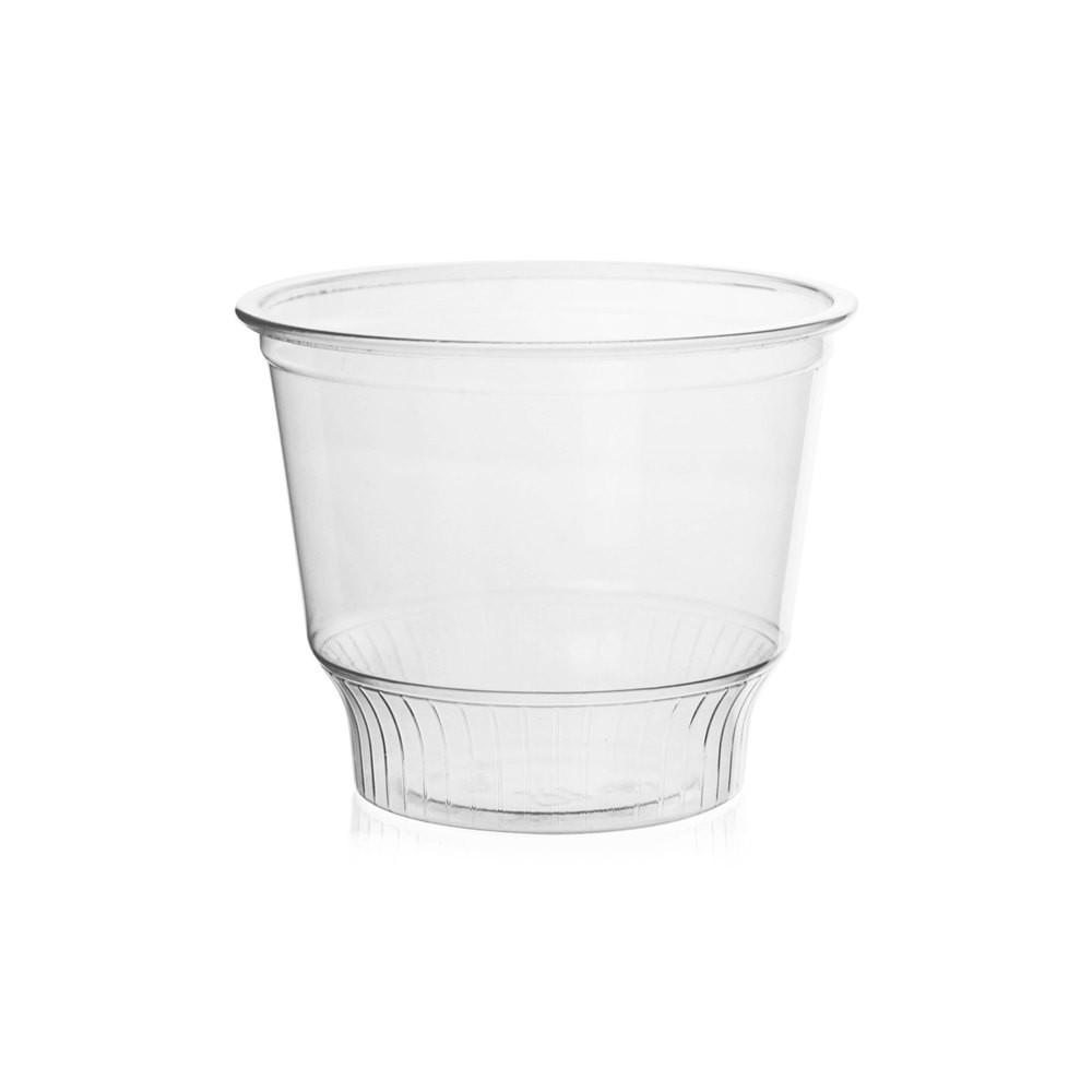 12OZ PET PLASTIC SUNDAE CUP (98MM), CLEAR - 1,000/CS - (ITEM: C12-98) - CarryOut Supplies