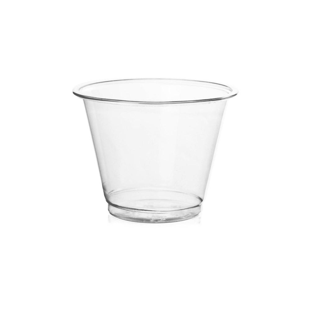 09 OZ PET PLASTIC DESSERT CUPS 92MM CLEAR - 1,000/CS - (item code: CS09-92) - CarryOut Supplies