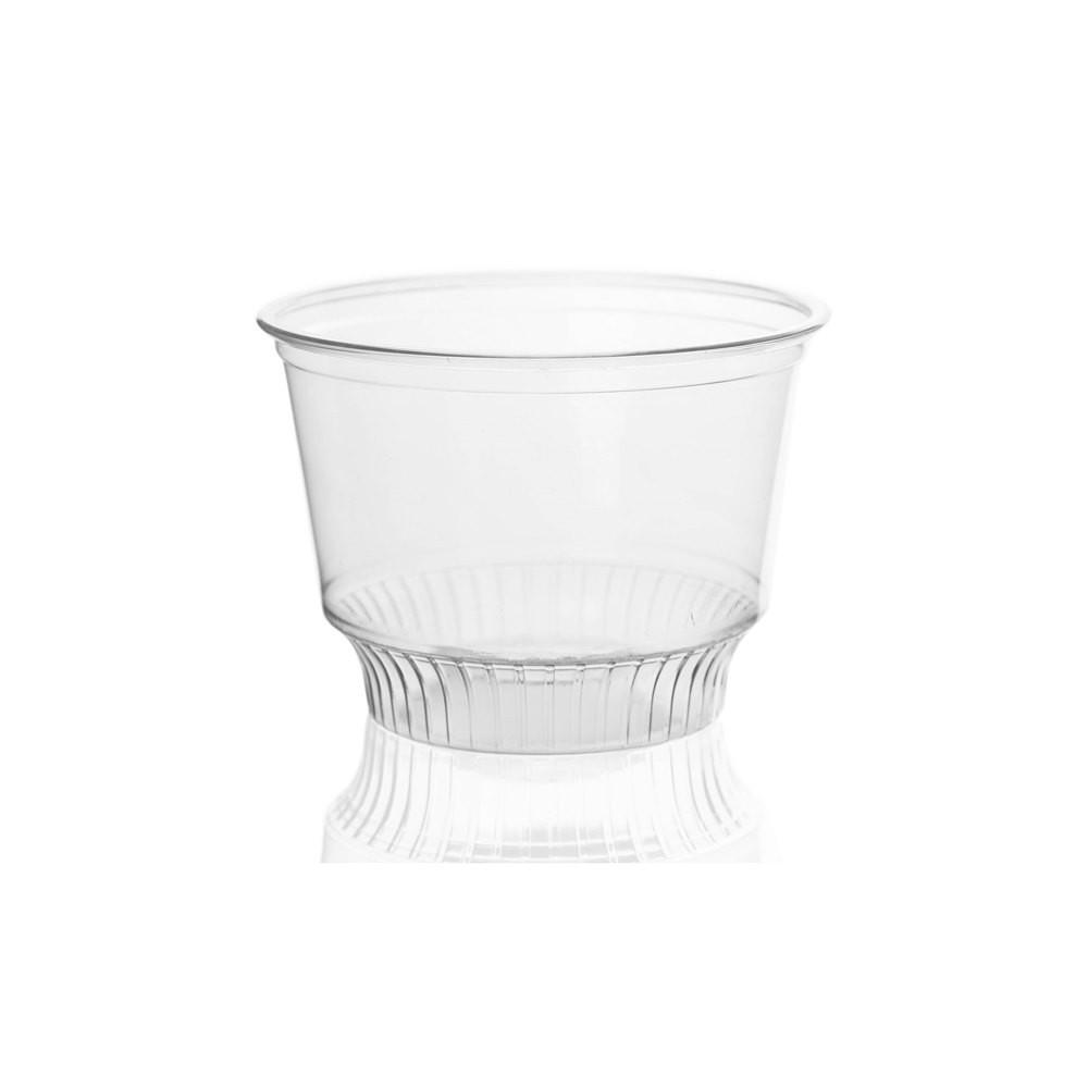 08OZ PET PLASTIC SUNDAE CUP (92MM), CLEAR - 1,000/CS - (item code: CS08-92) - CarryOut Supplies