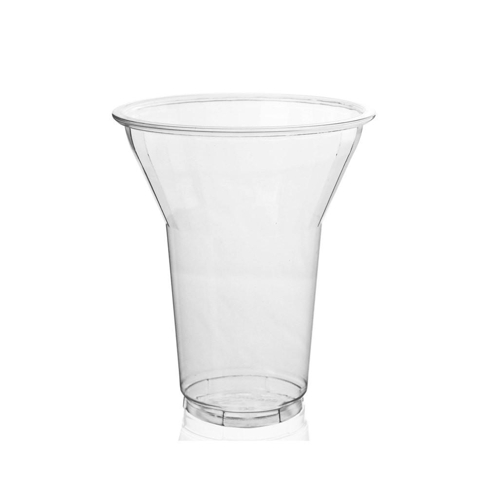 12OZ PET PLASTIC PARFAIT CUP (95MM), CLEAR - 1,000/CS - (item code: CS12-95) - CarryOut Supplies