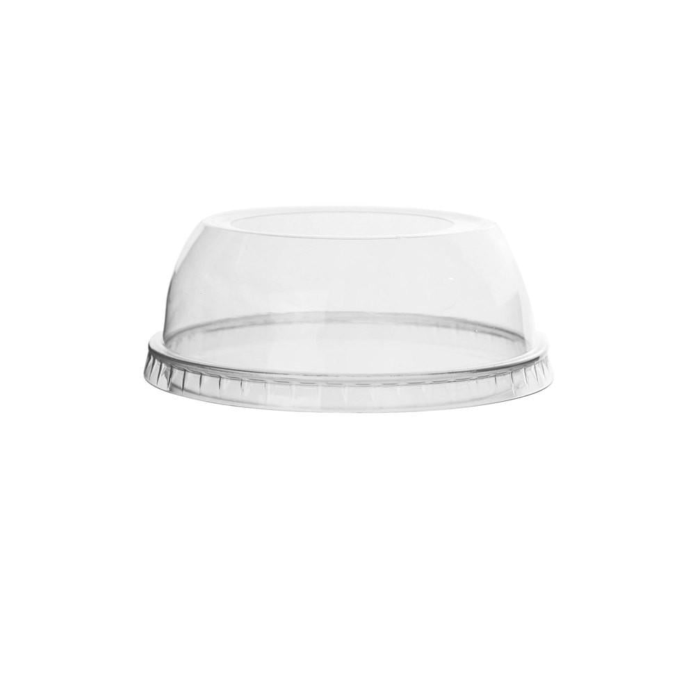 12-24 OZ (98MM) PLASTIC DOME LIDS WIDE FOR PET CUPS, CLEAR - 1,000/CS - (item code: DL98W) - CarryOut Supplies