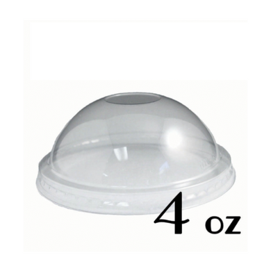 04 oz. Plastic Dome Lids (Item: AYCDL04K) - CarryOut Supplies