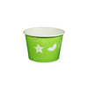 08 OZ. PAPER YOGURT CUPS, FRUIT PATTERN LIME GREEN - 1,000 / CS - (Item: 23807) - CarryOut Supplies
