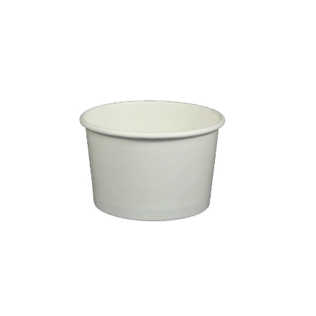 4 OZ. YOGURT CUPS - 1000 PCS/CS - PLAIN WHITE