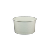 5.5 OZ. PAPER YOGURT CUPS 1000 PCS/CS - PLAIN WHITE