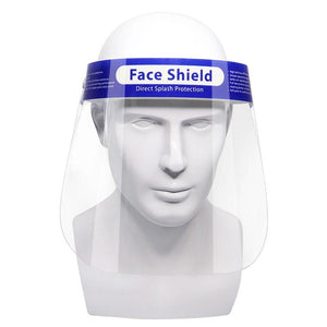 Anti-droplet Direct Splash Isolation Protective Mask Visor Shield 10pcs (Reusable) - CarryOut Supplies