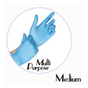 NITRILE GLOVES BLUE POWDER FREE - MEDIUM - 1,000 GLOVES / CS - (Item: 4772) - CarryOut Supplies