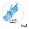 NITRILE GLOVES BLUE POWDER FREE - SMALL - 1,000 GLOVES / CS - (Item: 4771) - CarryOut Supplies
