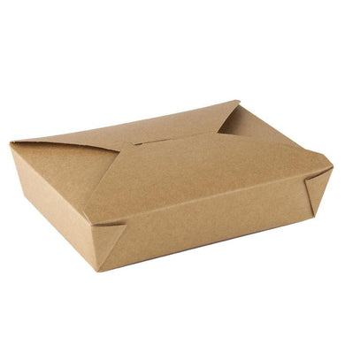 49 OZ. #2 PAPER E - PAK TAKE - OUT BOX, BROWN - 200 PCS/CS -(item code: 8002N) - CarryOut Supplies