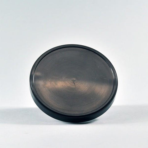 FLAT LIDS FOR 16 OZ. PAPER ICE CREAM FOR CONTAINER FOR ( BLACK )
