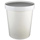 32 OZ. PAPER TO - GO COMBO HOT & COLD CONTAINERS, WHITE - 250 SET/CS - (Item: 25032)