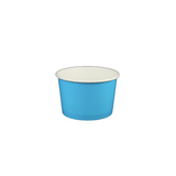 04 OZ. PAPER YOGURT CUPS, SOLID COLOR BLUE - 1,000 / CS - (Item: 20441)