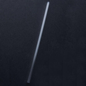 "GIANT 7.75""X6MM PAPER WRAPPED PLASTIC STRAWS, CLEAR - 500/CS - (item code: 1441CL) - CarryOut Supplies"