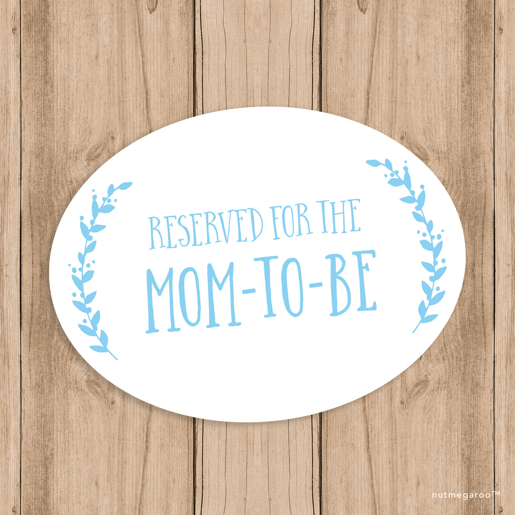 Baby Shower Printable Decor - Chair Sign