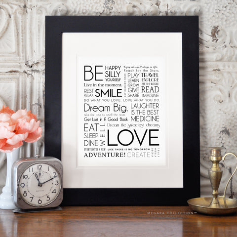 Inspirational Quotes Art