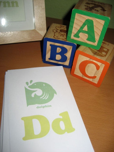 alphabet flash cards to print