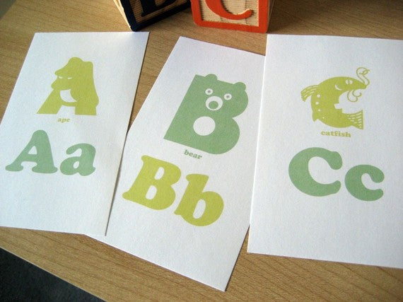 letter flashcards for preschoolers