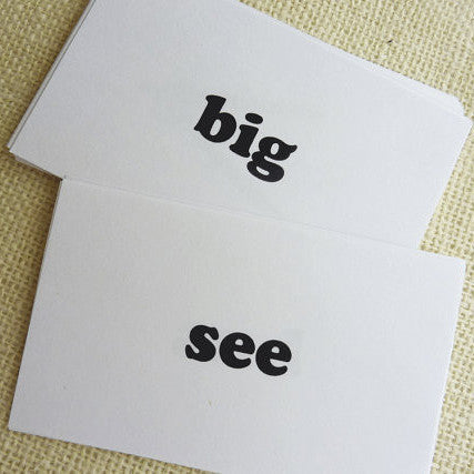Dolch Sight Word List Flash Cards - Printable PDF