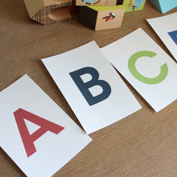 abc flash cards printable
