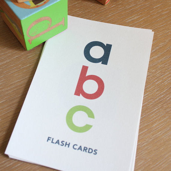 alphabet flash cards pdf