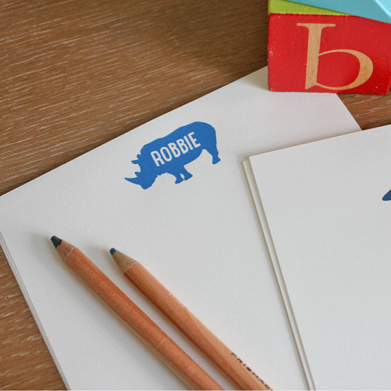 rhino stationery for boys