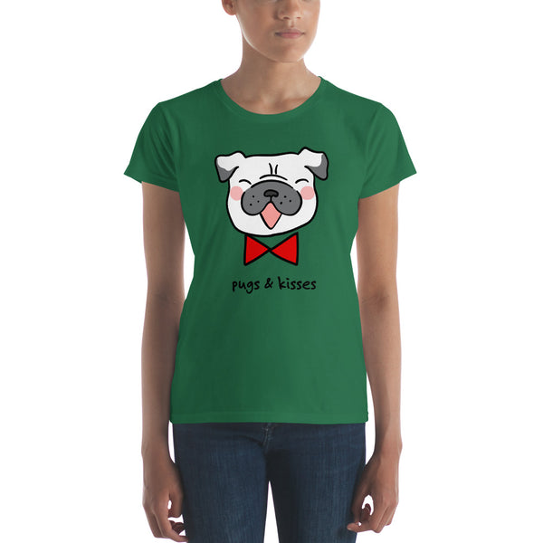 Pugs & Kisses Women's short sleeve t-shirt