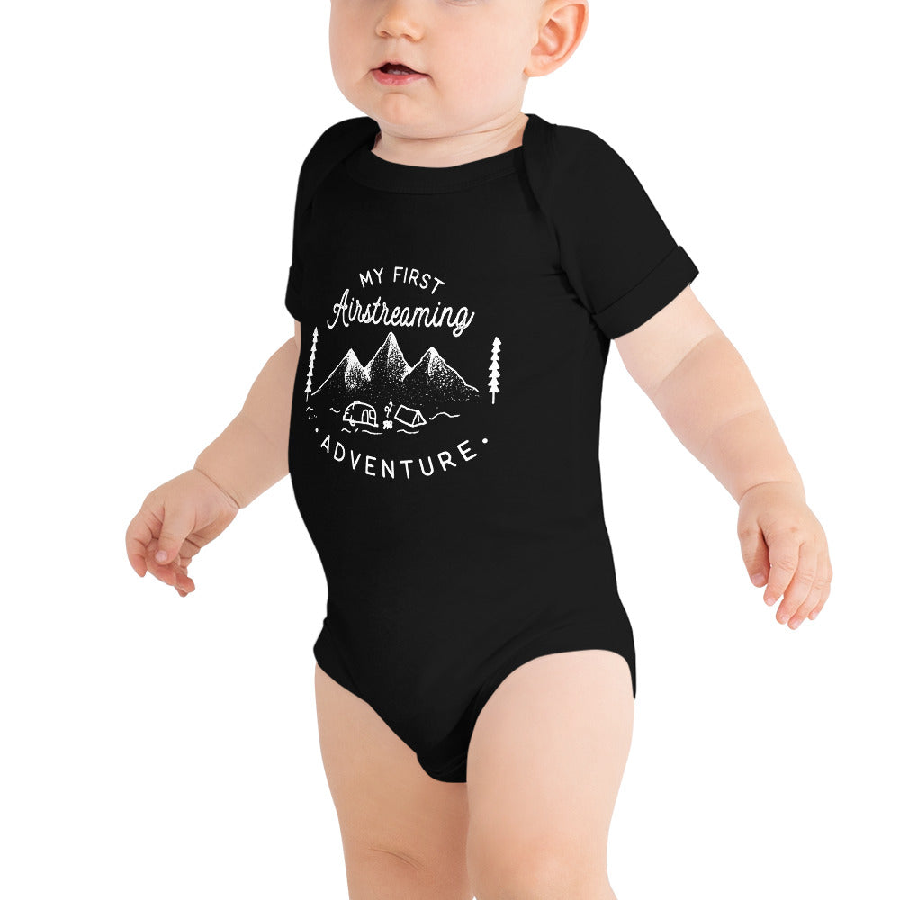 My First Airstreaming Adventure Baby Onsie Bodysuit