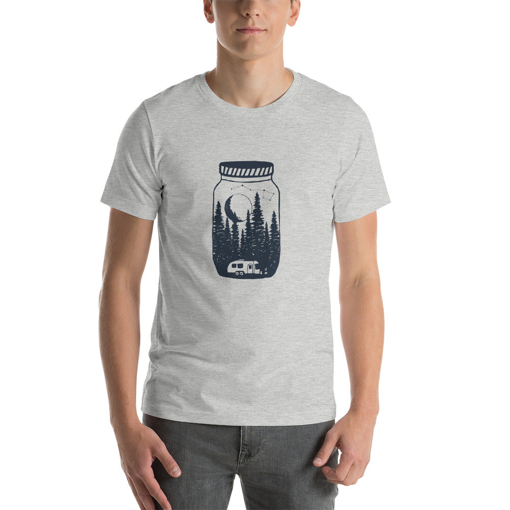 Airstreaming under the moon and stars Short-Sleeve T-Shirt