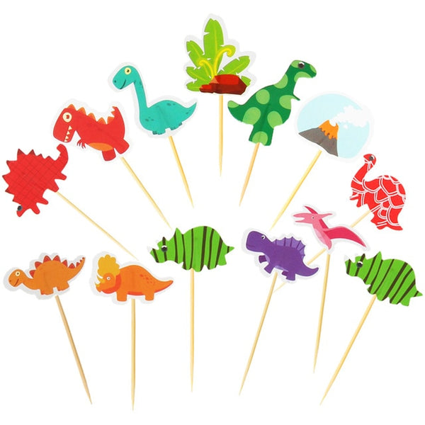 Dinosaur Theme party paper plate/Cup/napkin/banner straw Tablecloth Balloon kid Birthday Party Decor supply Disposable tableware